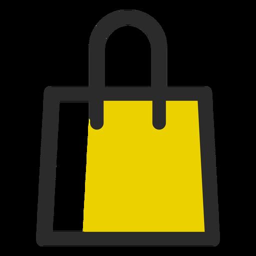 Shopping Bag Colored Stroke Icon