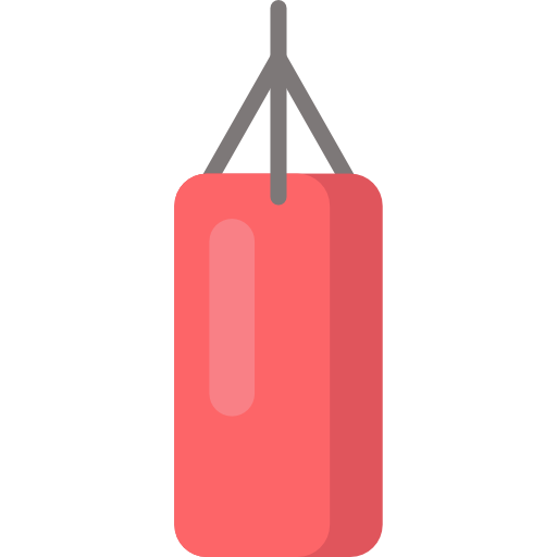 Classic Boxing Bag, Boxing, Punching Bag Icon Png