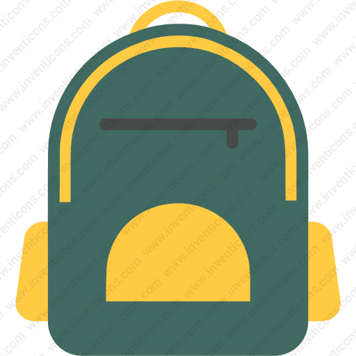 Download Bag,bag For School,school Bag,student Bag Icon Inventicons