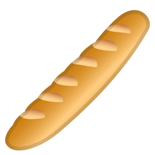 Baguette Bread Icon Noto Emoji Food Drink Iconset Google