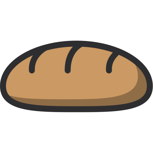 Food, Dessert, Bakery, Baker, Baguette Icon
