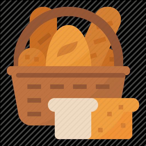 Bake, Bakery, Basket, Bread Icon