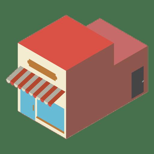 Bakery Isometric Icon