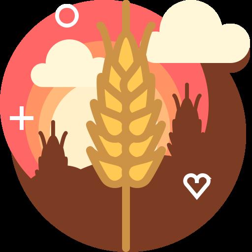 Wheat, Rye, Ranching, Field, Farm, Bakery Icon Free Of Free