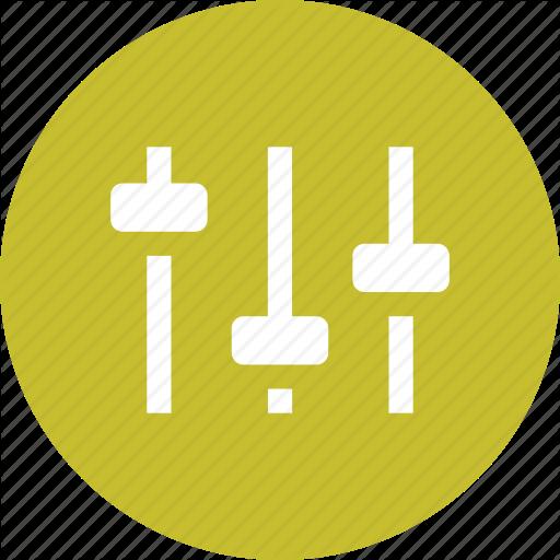 Audio, Balance, Equalizer, Levels, Settings, Sound, Volume Icon