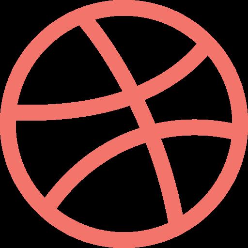 Social Media Ball Icon