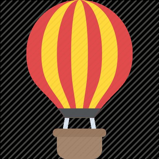Adventure, Air Flight, Exploration, Freedom, Hot Air Balloon Icon