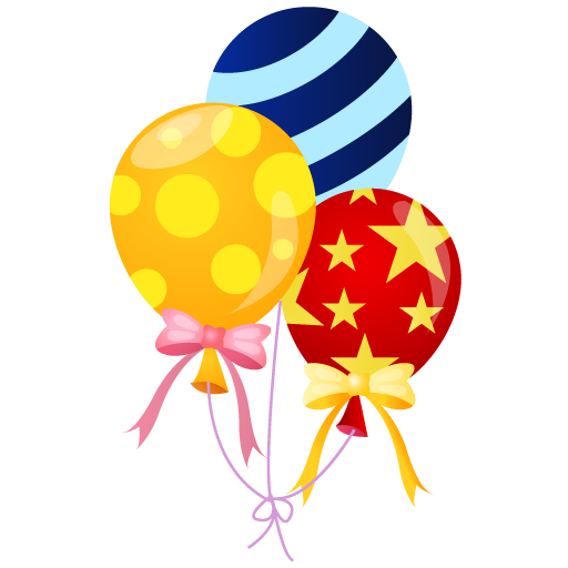 Balloons Icon Event People Carnival Iconset Dapino