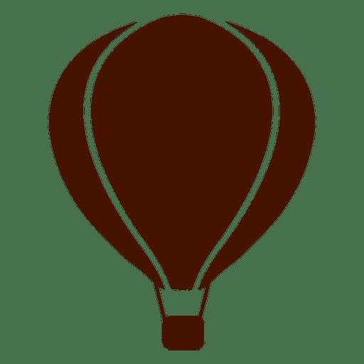 Hot Air Balloon Transport Icon