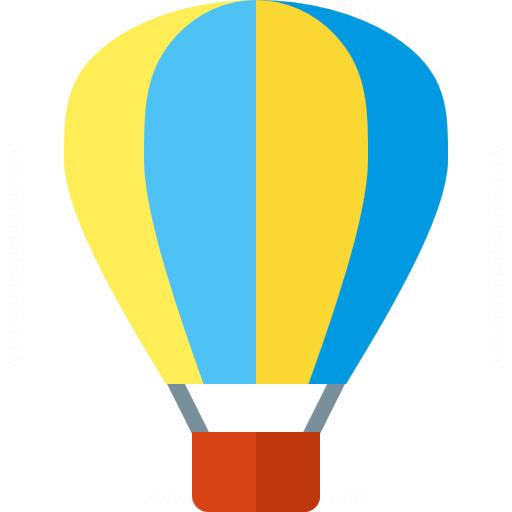 Iconexperience G Collection Hot Air Balloon Icon