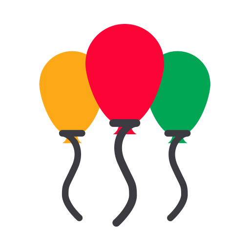 Balloon, Birthday Balloon, Decoration Icon Png And Vector For Free