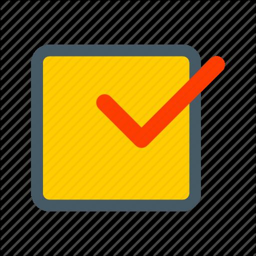 Ballot, Box, Checklist, Mark, Paper, Survey Icon