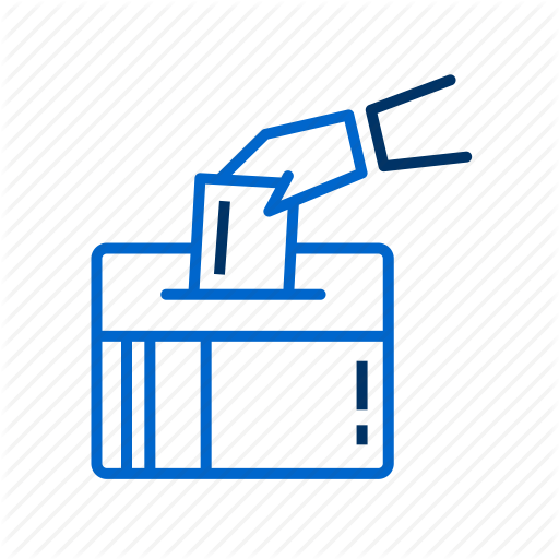 Ballot Box, Choice, Rights, Vote, Voting Ballot Icon