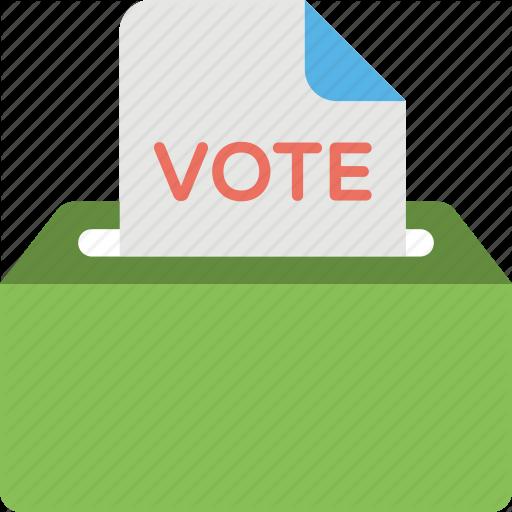 Ballot Box, Election Campaign, Vote Posting, Voting, Voting Box Icon