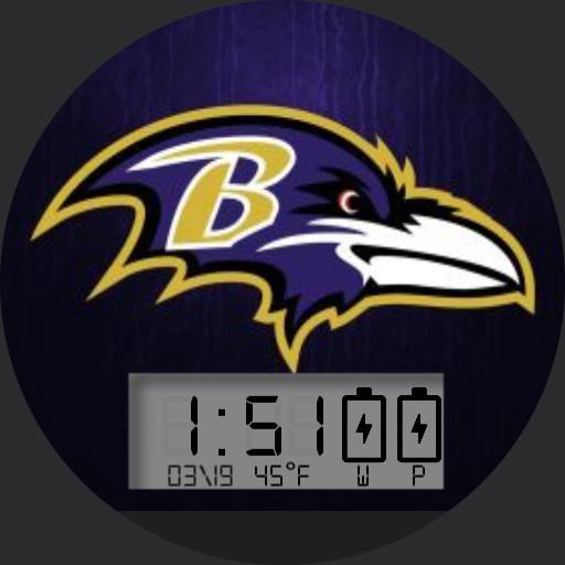 Retro Baltimore Ravens For Moto