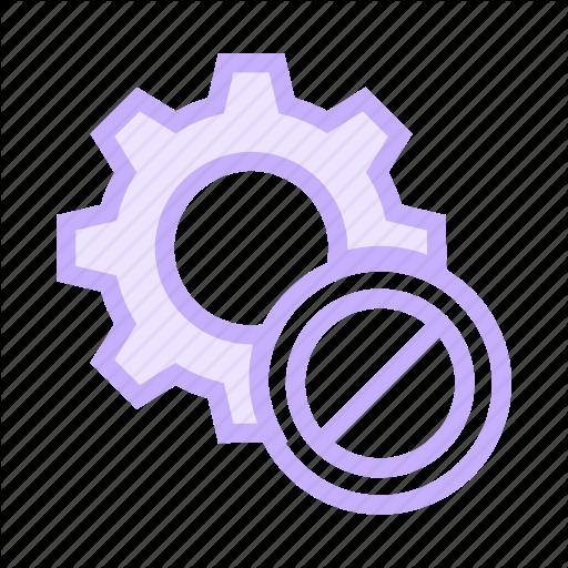 Ban, Block, Configuration, Option, Setting Icon