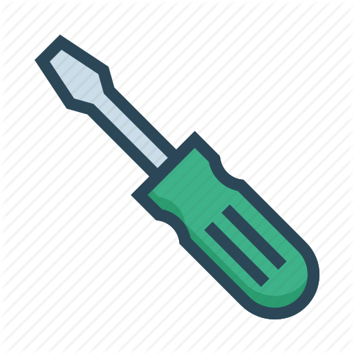 Construction, Fix, Screwdriver, Setting, Tools Icon
