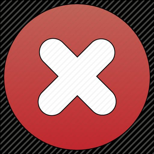 Ban, Delete, Hide, Remove Icon