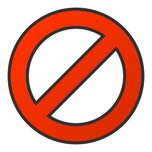 Ban, Circle, Regular Icon Free Of Snipicons Regular