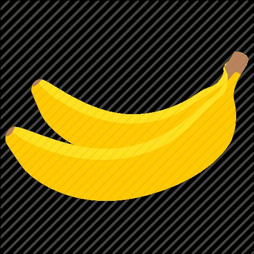 Banana, Bananas, Food, Fruit Icon