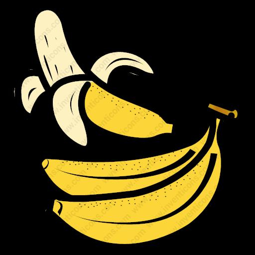 Download Banana,banana,food,fruit,healthy Food Icon Inventicons