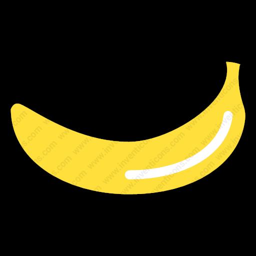 Download Banana Icon Inventicons