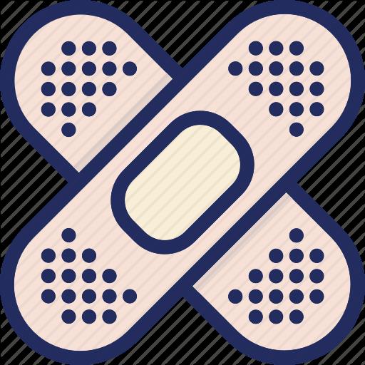 Band Aid, Band Aid, Fix, Health, Medical, Medicine Icon