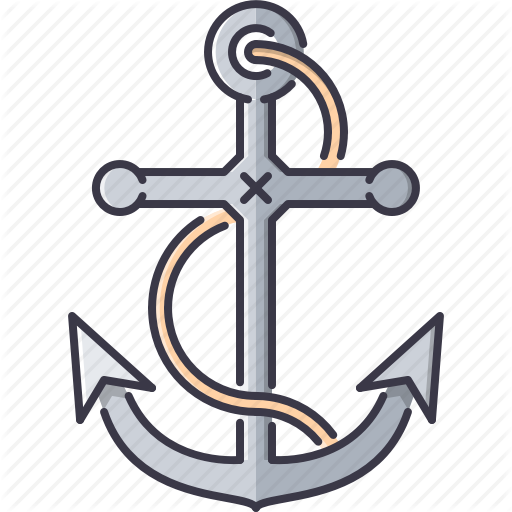 Anchor, Bandit, Crime, Pirate, Rope, Seafaring Icon
