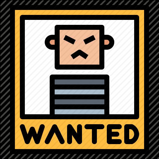 Assassin, Bandit, Criminal, Wanted Icon