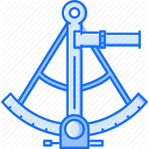 Bandit, Crime, Navigation, Pirate, Seafaring, Sextant Icon
