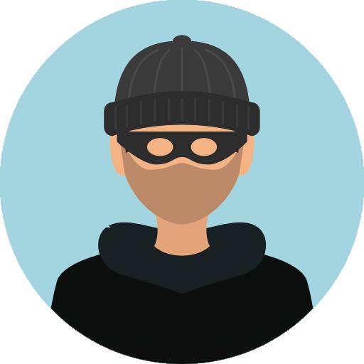 Thief, Mask, Bandit, Criminal Icon