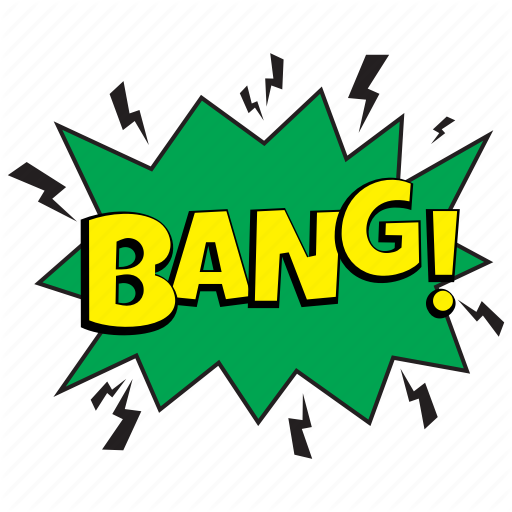 Bang, Bang Bubble, Bang Comic, Bang Expresion, Bang Message Bubble