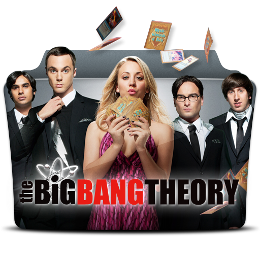 The Big Bang Theory Icon Tv Series Folder Pack Iconset