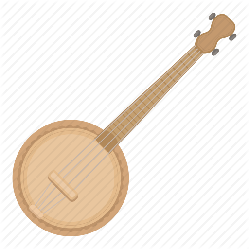 Banjo, Instrument, Musical, String Icon
