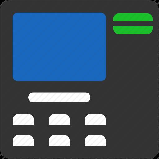 Bank, Bank Atm, Cash Out, Payment, Pin Code, Pos Terminal