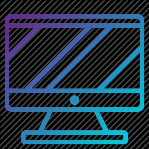 Computer, Computercase, Desktop, Mornitor Icon