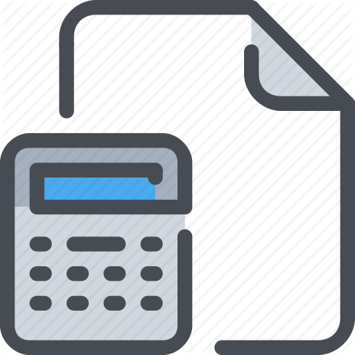 Accounting, Bank, Document, File, Finance Icon