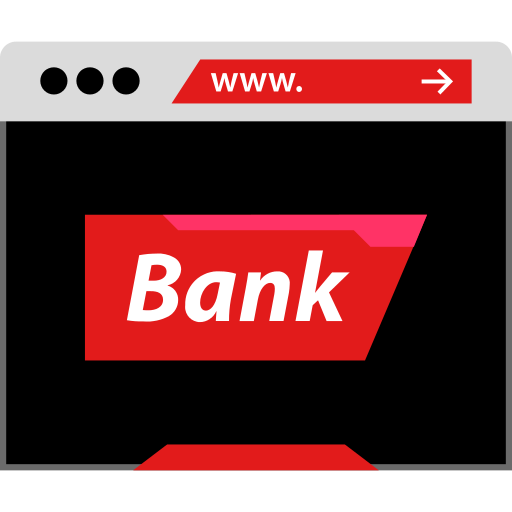 Bank Web Png Icon