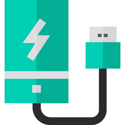 Power Bank Charger Png Icon