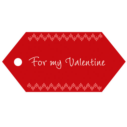Red Valentine's Day Banner Icon Download Free Icons
