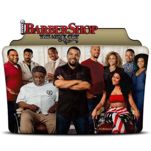 Barbershop The Next Cut Folder Icon