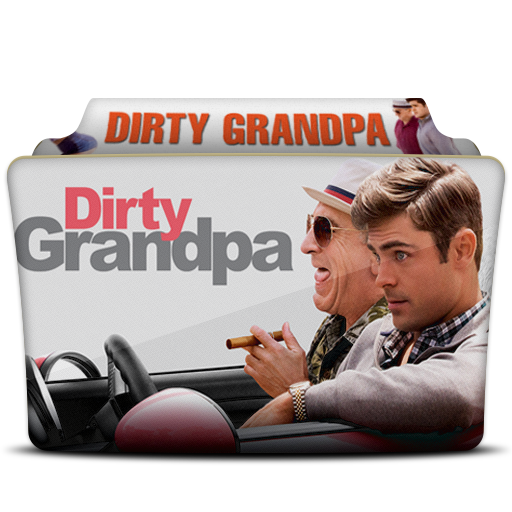 Dirty Grandpa Folder Icon