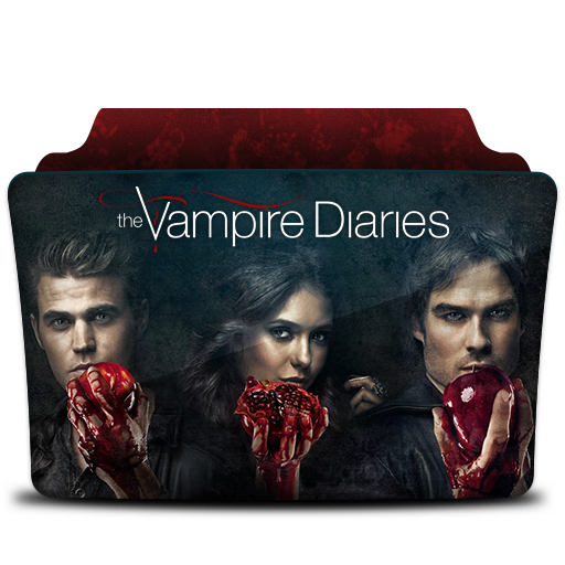 The Vampire Diaries Icon Tv Series Folder Pack Iconset