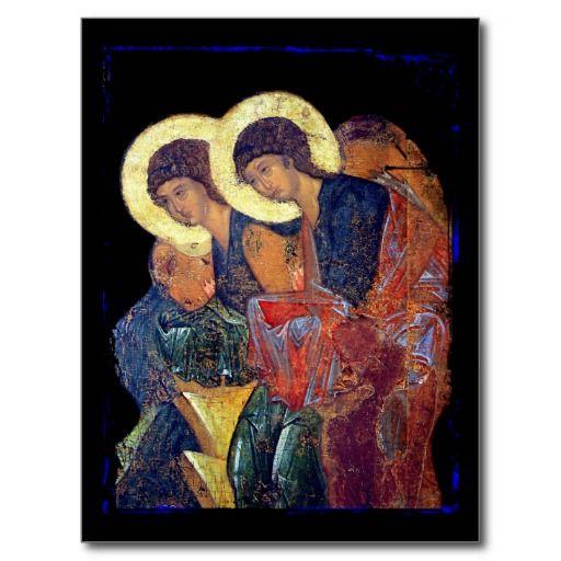 Angels Of Annunciation Postcard Angel