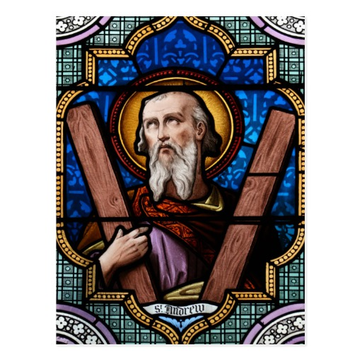 Andrew Disciple Of John The Baptist Stained Glass