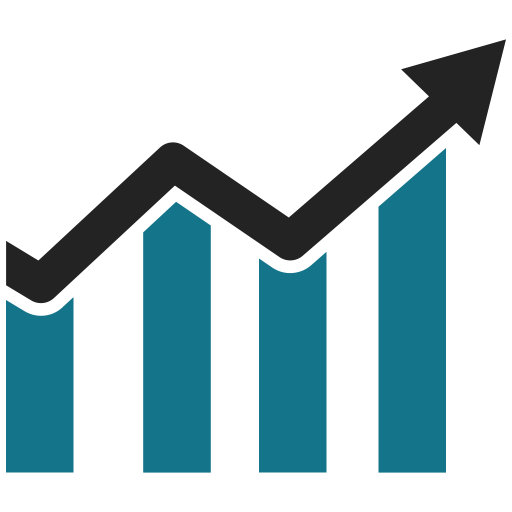Business Growth, Graph, Bar Chart, Business Graph Icon