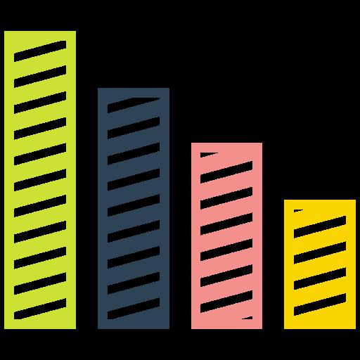 Growth, Arrow, Bar, Graph Icon