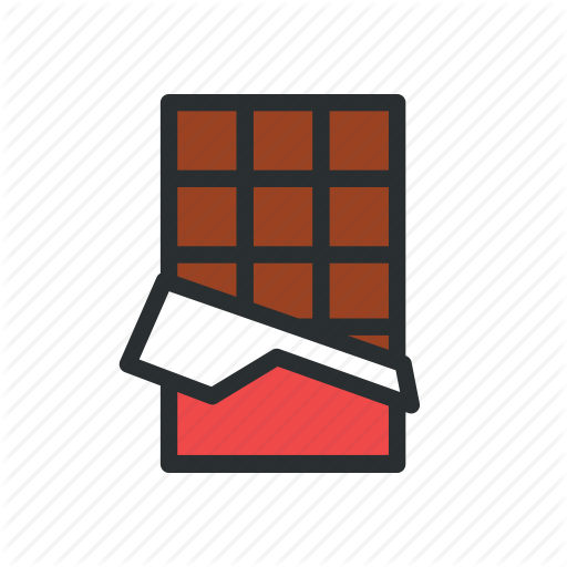 Candy Bar, Chocolate, Chocolate Bar Icon