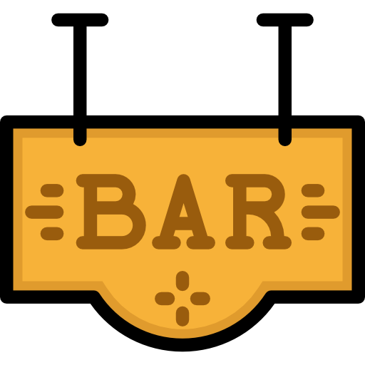 Pub, Signaling, Bar Icon