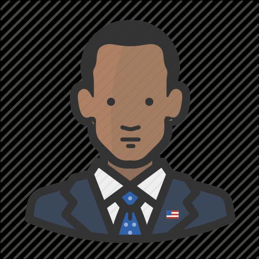 Barack Obama, Potus, President Icon